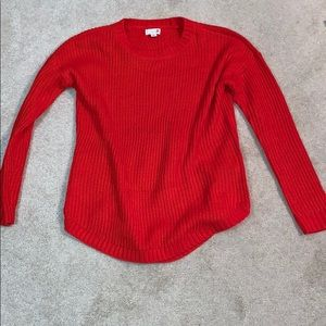 Red Kohl's Sweater